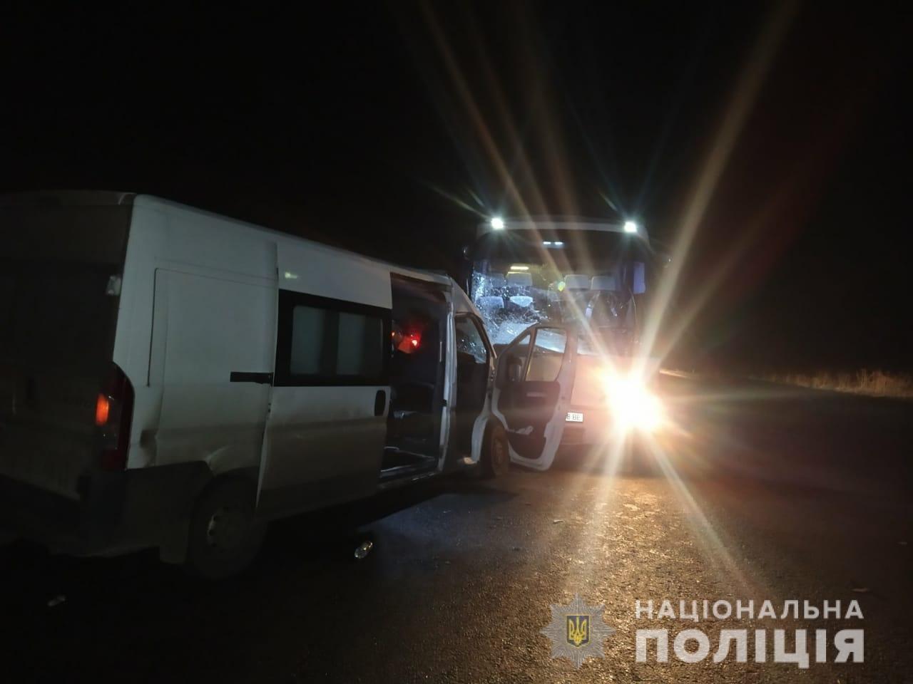 На Харьковщине микроавтобус «влетел» в рейсовый автобус: пять человек в больнице, - ФОТО, фото-4