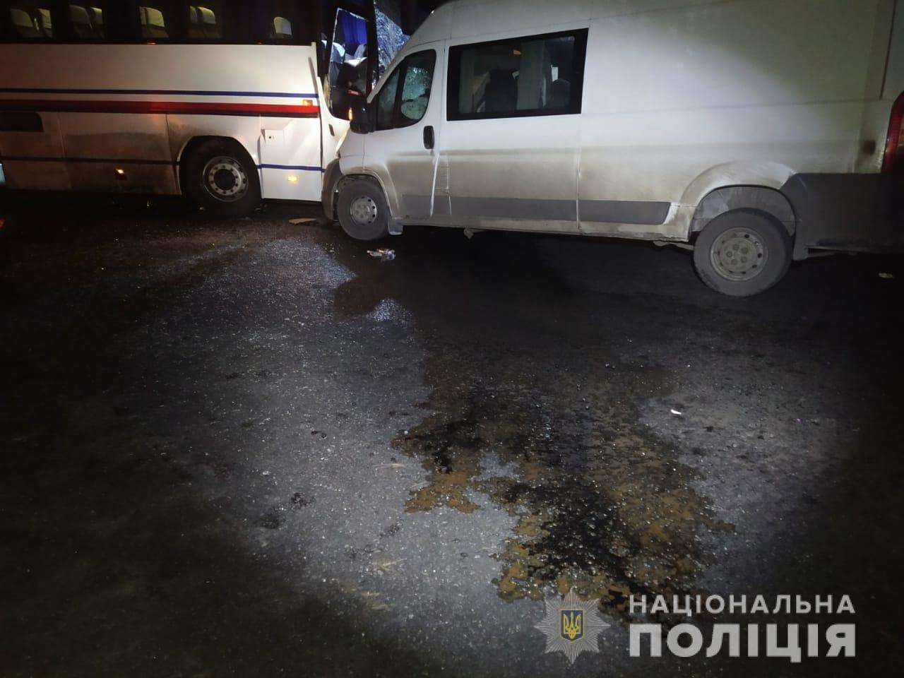 На Харьковщине микроавтобус «влетел» в рейсовый автобус: пять человек в больнице, - ФОТО, фото-2