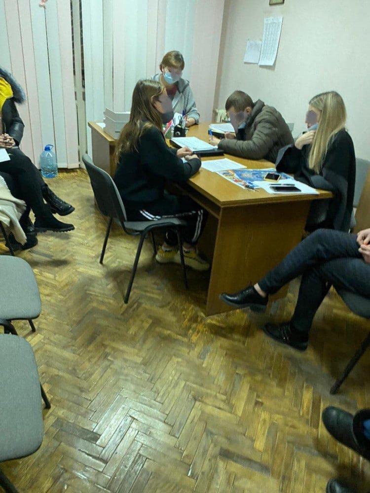 Фото: ювенальная превенция ГУНП области