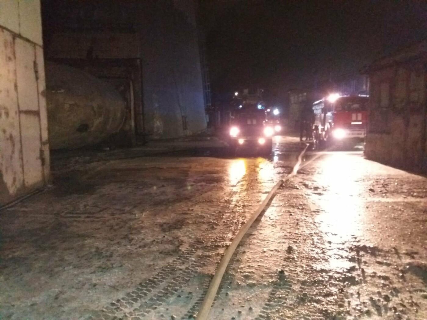 На Харьковщине загорелась Змиевская ТЭС: спасатели более семи часов тушили пожар, - ФОТО, фото-3