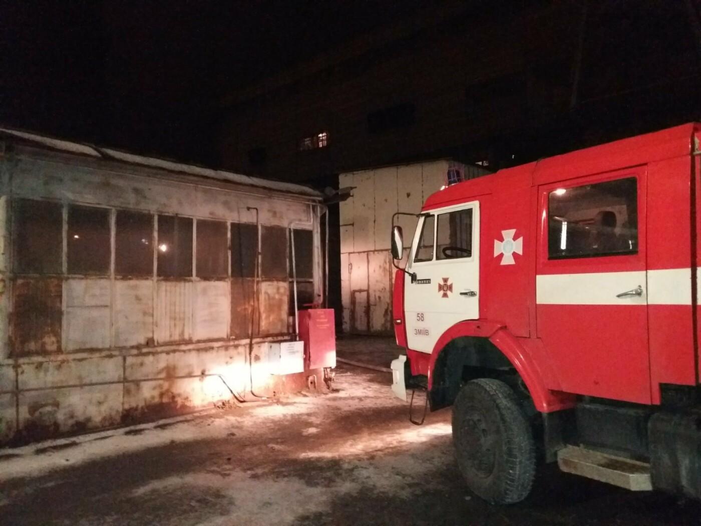 На Харьковщине загорелась Змиевская ТЭС: спасатели более семи часов тушили пожар, - ФОТО, фото-4