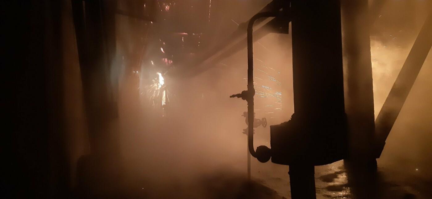 На Харьковщине загорелась Змиевская ТЭС: спасатели более семи часов тушили пожар, - ФОТО, фото-2