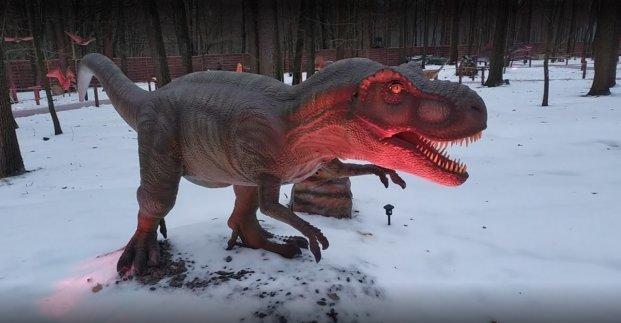 В Харькове открыли парк динозавров: 40 интерактивных скульптур в натуральную величину, фото-1