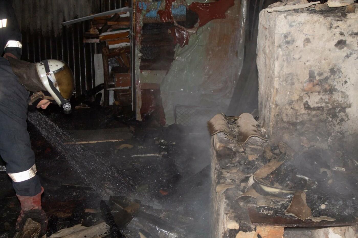 В Харьковской области загорелась летняя кухня частного дома: погиб мужчина, - ФОТО, фото-3
