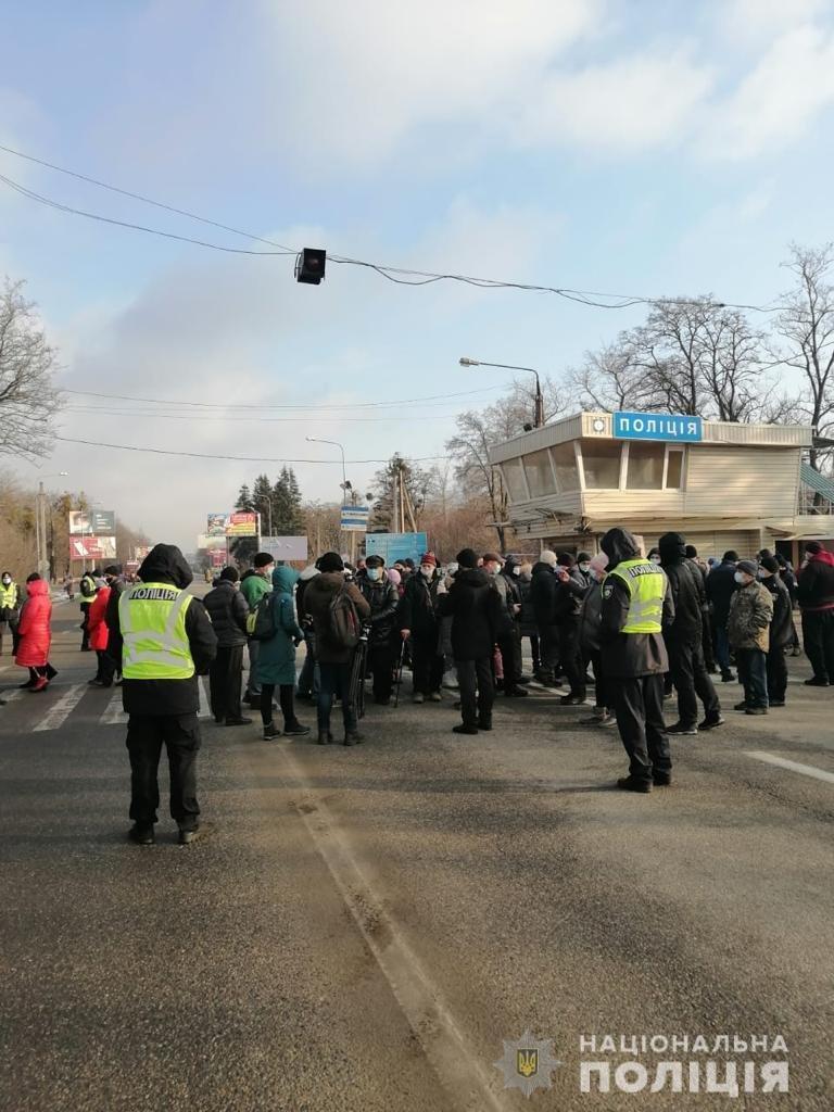 «Тарифные протесты» в Украине. Почему люди перекрывают трассы и как реагирует власть, - ФОТО, фото-1