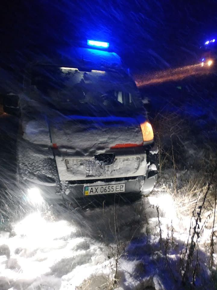 На Харьковщине во время снегопада мужчина сломал голень и едва не замерз насмерть в лесу, - ФОТО, фото-2