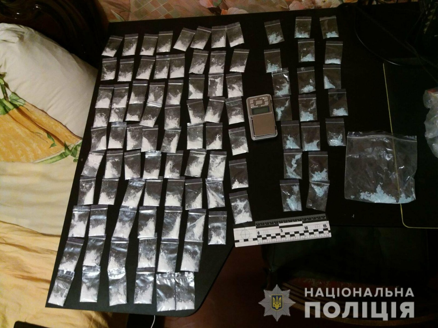 Купил оптом, расфасовал дома и делал «закладки»: в Харькове полиция задержала мужчину с сотней доз наркотиков, - ФОТО, фото-1