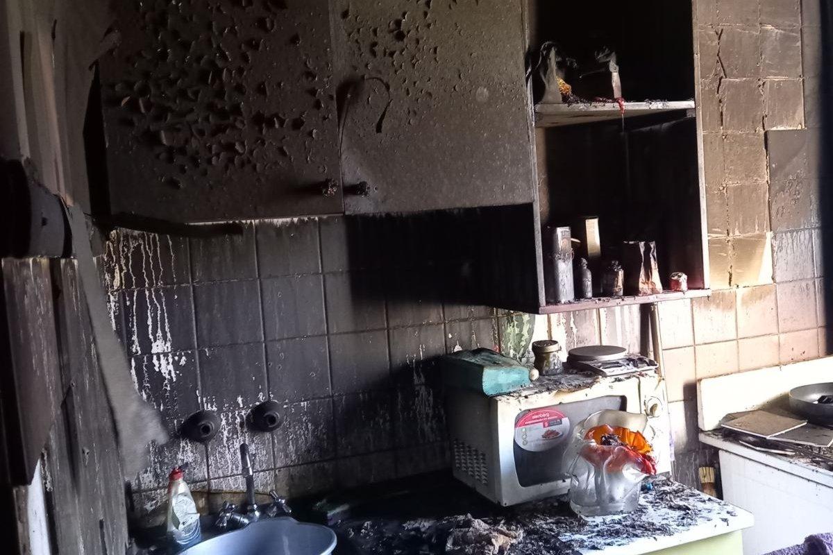 В Харькове из горящей «пятиэтажки» спасатели эвакуировали пять жителей дома, - ФОТО, ВИДЕО, фото-2
