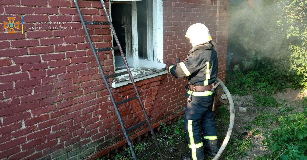 На Харьковщине во время пожара пострадала 18-летняя девушка, - ФОТО, фото-2