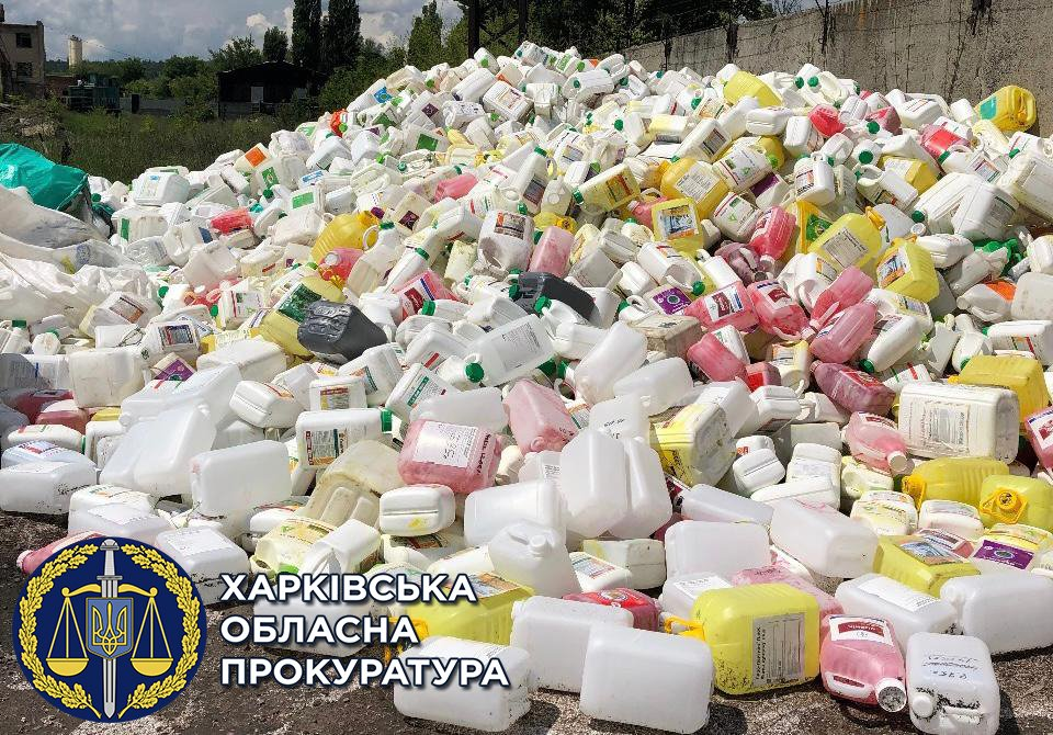 В Харьковской области силовики подозревают бизнесмена в загрязнении реки Лопань, - ФОТО, фото-1