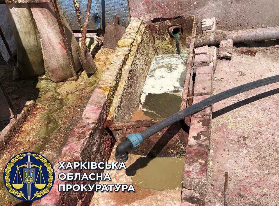 В Харьковской области силовики подозревают бизнесмена в загрязнении реки Лопань, - ФОТО, фото-2