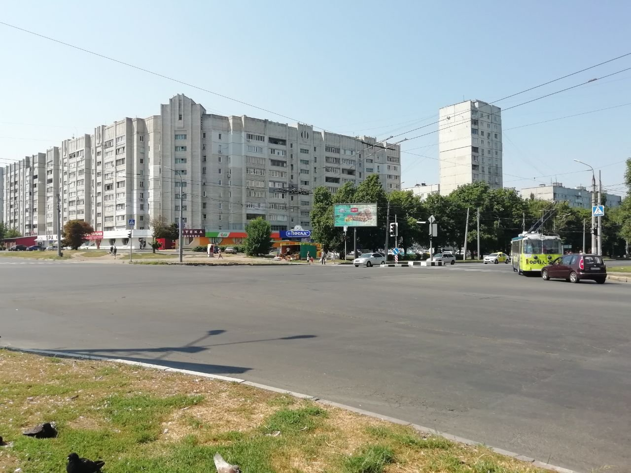 Пересечение улицы Гвардейцев-Широнинцев и Юбилейного проспекта