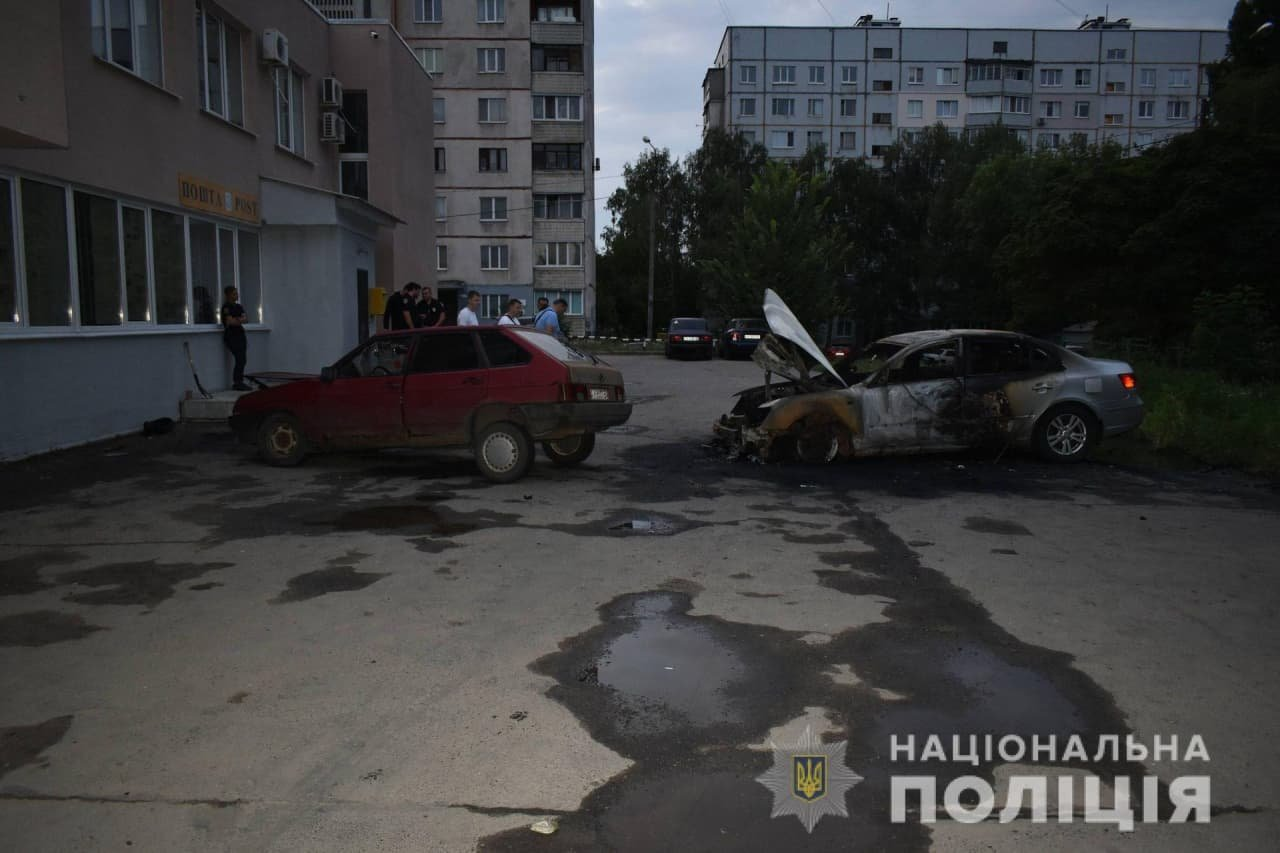 Поджог авто на Алексеевке: полиция открыла уголовное производство, - ФОТО, фото-3