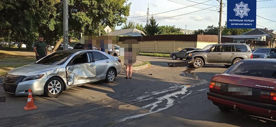 В Харькове не разминулись авто