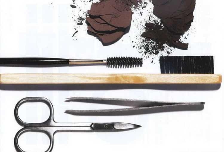 инструменты для биотатуажа бровей
